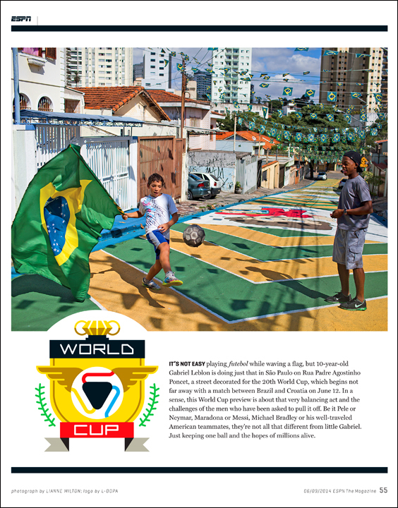 World Cup preview for ESPN Magazine - shutter to think